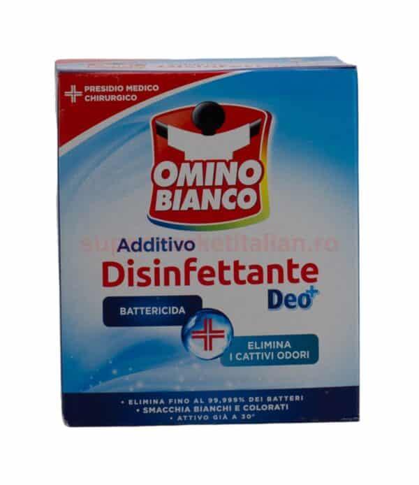 Aditiv dezinfectant pulbere Omino Bianco 450 g 8004060010759 1