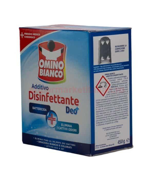 Aditiv dezinfectant pulbere Omino Bianco 450 g 8004060010759 3