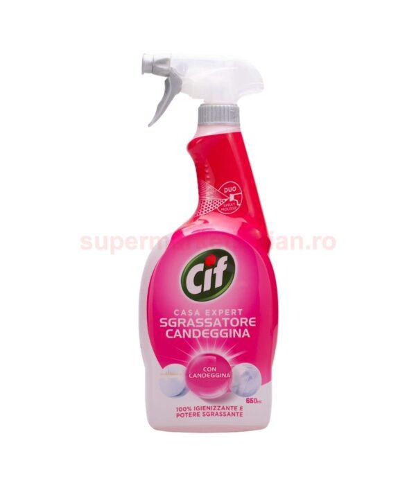 Degresant spray igienizant Cif Casa Expert cu albire 650 ml 8000630719503 1