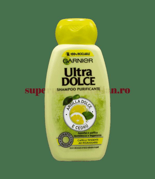 Garnier Ultra Dolce Shampoo Agrilla Dolce e Cedro front