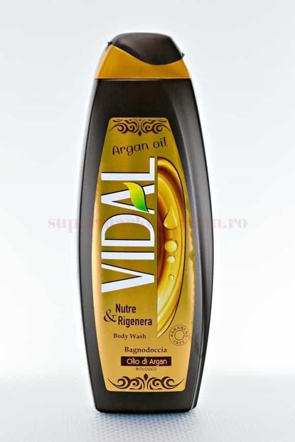 Gel de dus Vidal cu ulei de argan 500 ML 1
