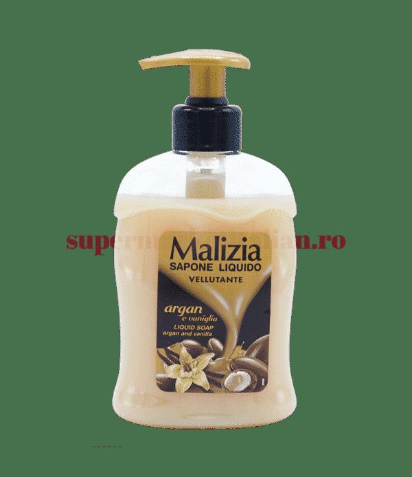 Malizia Sapone Liquido Vellutante argan e vaniglia front