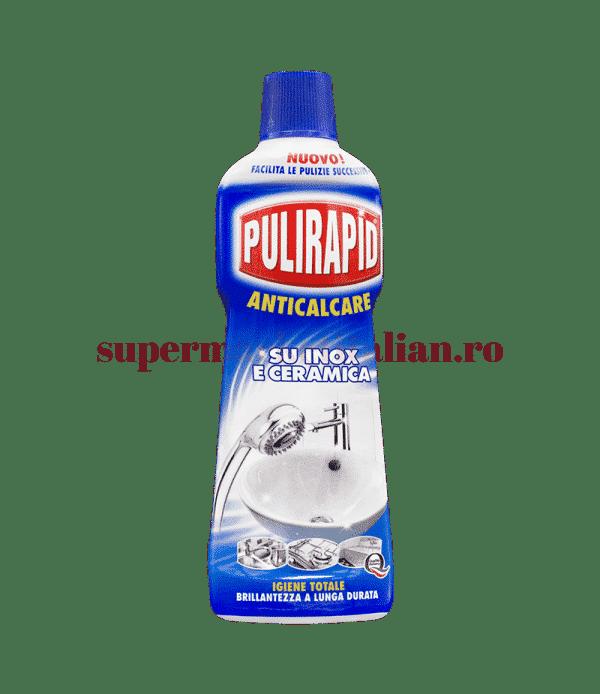 Pulirapid Anticalcare su inox e ceramica front