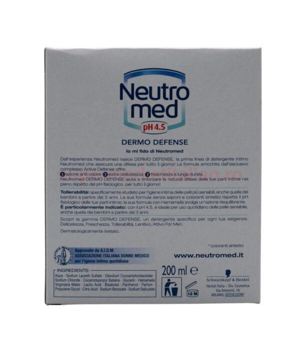 Sapun intim Neutromed Dermo Defense 200 ml 8015700152463 3