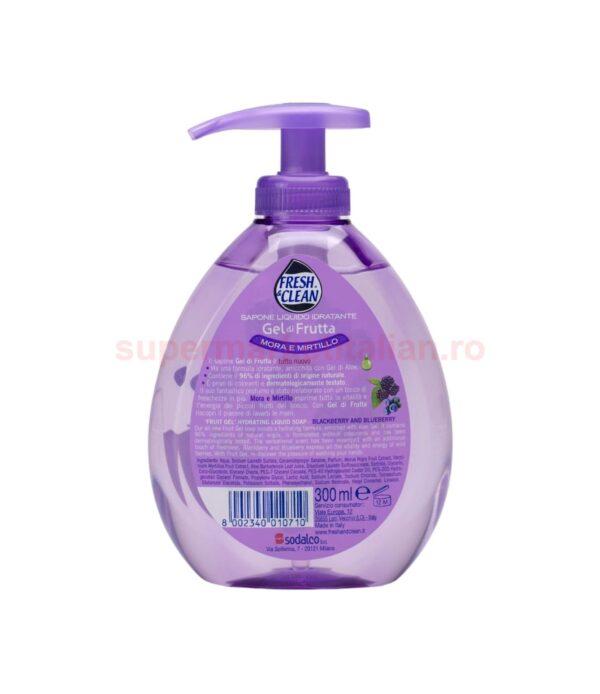 Sapun lichid Fresh Clean Fructe de padure 300 ml 8002340010710 2