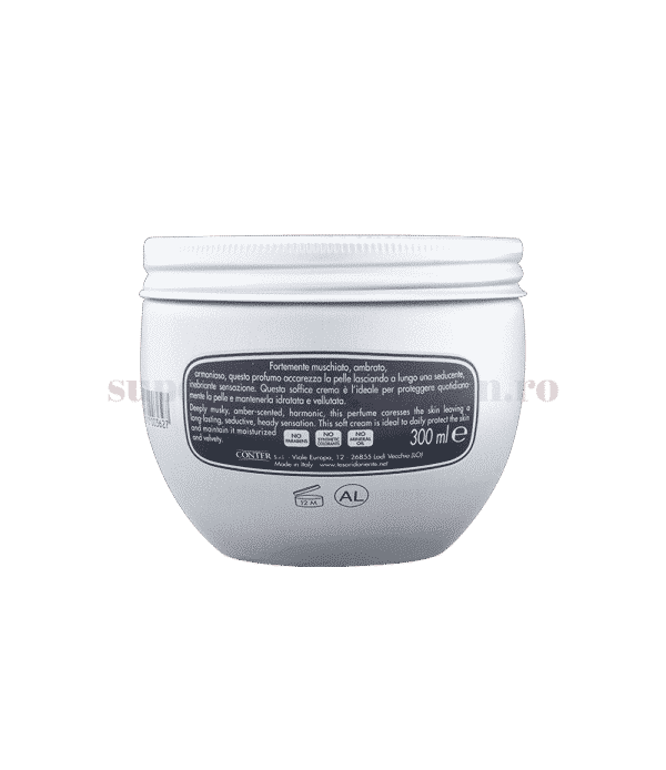 Tesoro doriente crema corpo aromatica Moschino bianco back