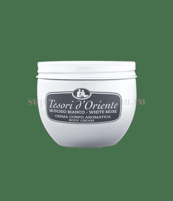 Tesoro doriente crema corpo aromatica Moschino bianco front