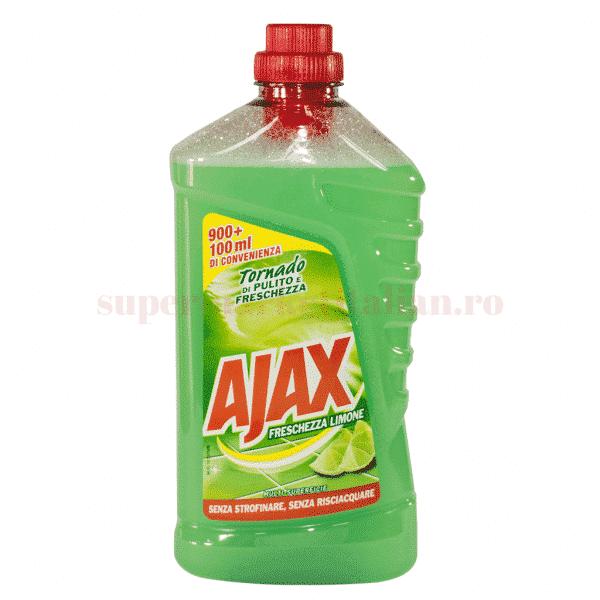 ajax detergent gresie limone 1l