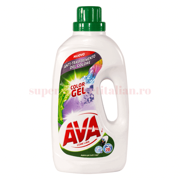 ava detergent color gel