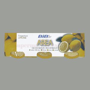 bib area deodorante per ambienti fragranza limone front