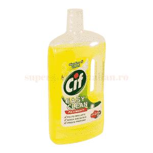 Detergent pentru gresie Cif Grădina de Lămâie
