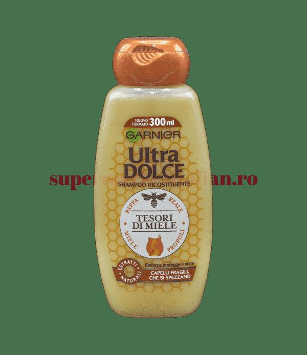 garnier ultra dolce shampoo ricistituente tesori di miele 300 front
