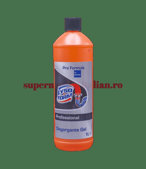 lyso form professional disgorgante gel front