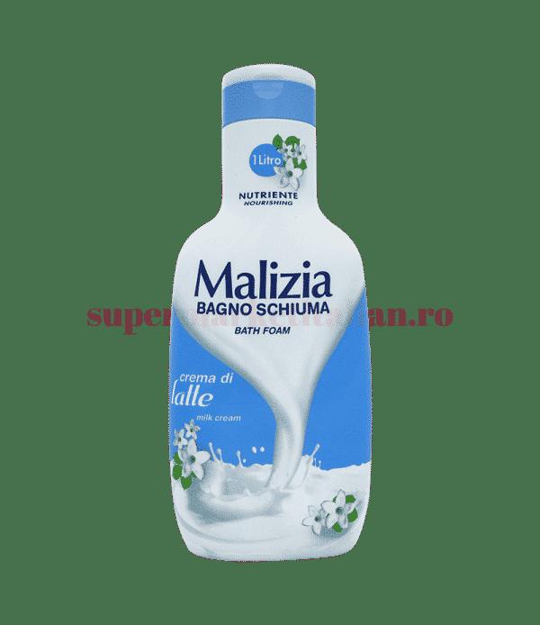 malizia bagno schiuma crema di latte front