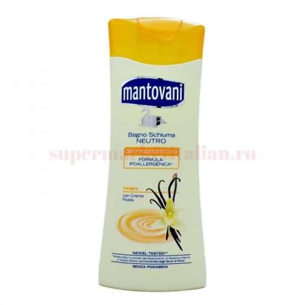 mantavoni bagno schiuma neutro vanilie