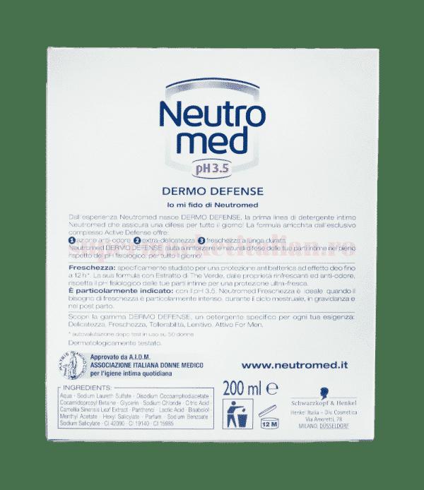 neutro med ph 3 5 dermo defense freschezza back