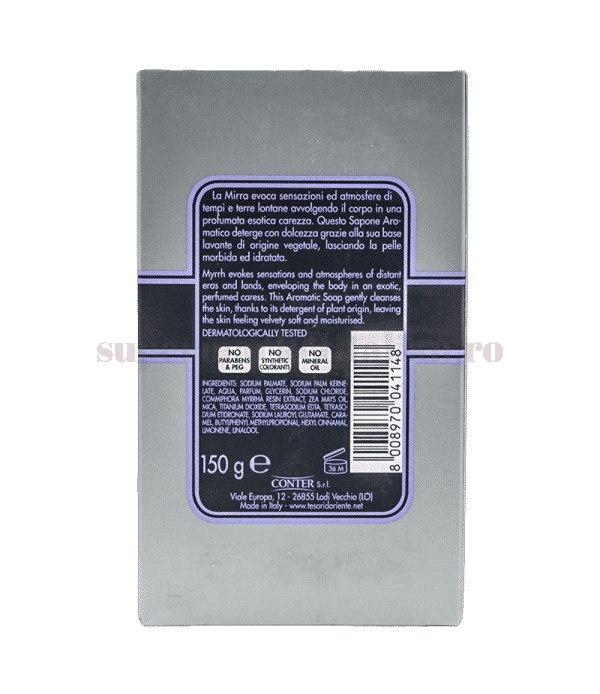 tesori doriente sapone aromatico mira back