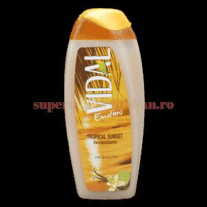 vidal emotions docciaschiuma tropical sunset vaniglia e lime front