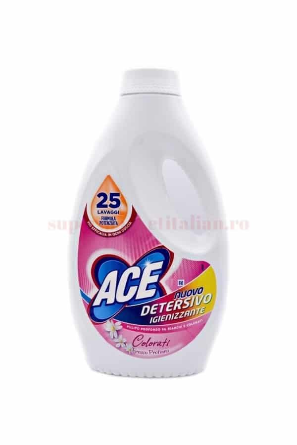Detergent lichid Ace Parfum Fresh Rufe Colorate 25 spălări 2