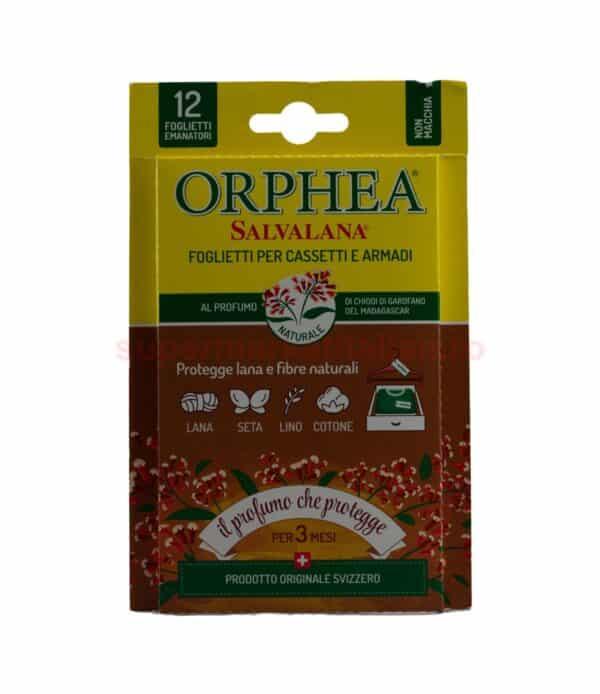 Folii Parfumate pentru Haine Orphea Cuisoare din Magadascar 12 bucati 8001365182402 1