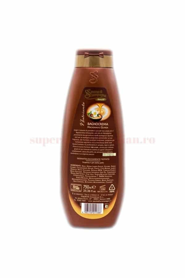 Gel de duș cremă Spuma di Sciampagna Beaute cu Ulei de Macadamia 750 ml 1