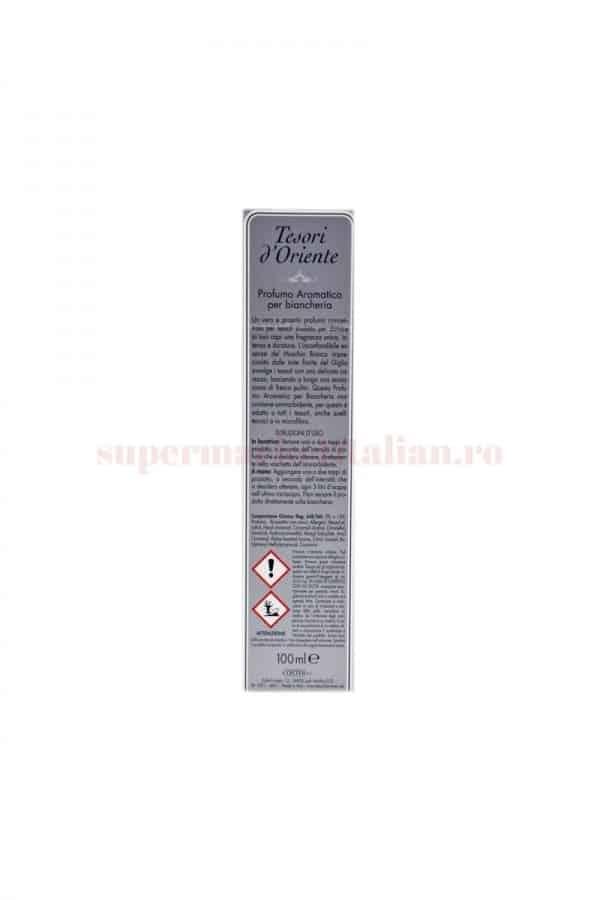 Parfum de rufe Tesori DOriente cu Mosc Alb și Floare de cireș 100 ml 1