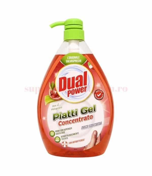 Detergent Concentrat Vase Dual Power Delicato Mani 1000 Ml