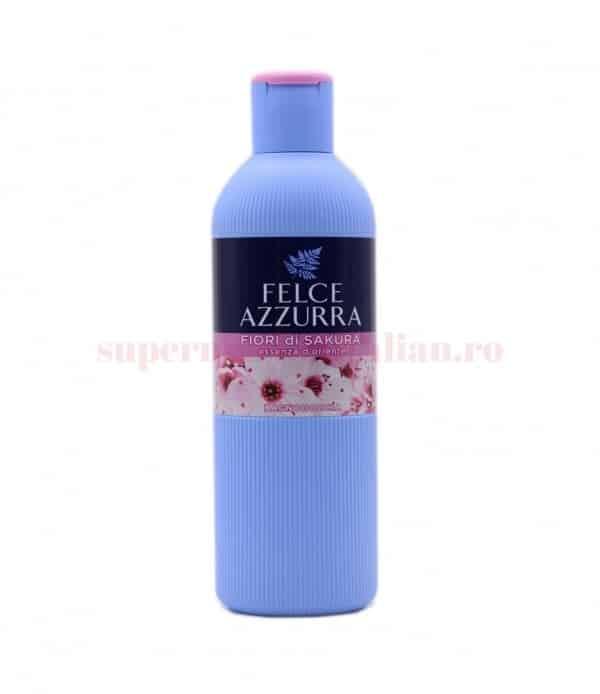 Gel de duș Felce Azzurra Flori de Sakura 650 ml 1 8001280068072