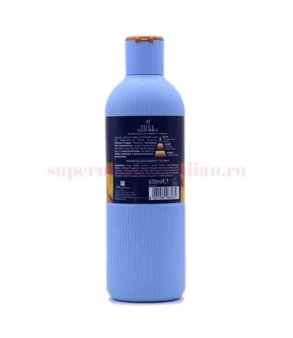 Gel de duș Felce Azzurra Flori de Sakura 650 ml 2 8001280068034