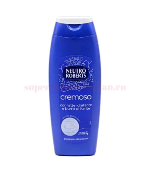 Gel de duș Neutro Roberts Cremoso cu Lapte Hidratant și Unt de Sheea 500 ml 8002410009651