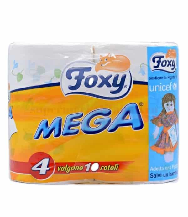 Hârtie igienică Foxy MEGA 4 role 8008260001036