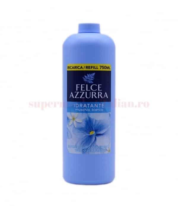 Săpun lichid hidratant Felce Azzurra Mosc Alb 750 ml 1 8001280029905