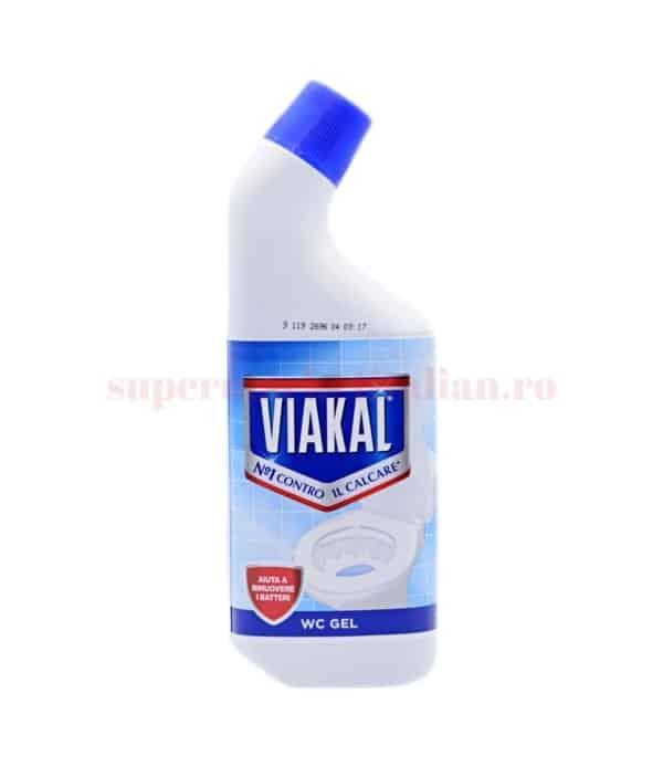 Soluție WC Viakal cu Ajutor pentru Eliminarea Bacteriilor 750 ml 8001090575180