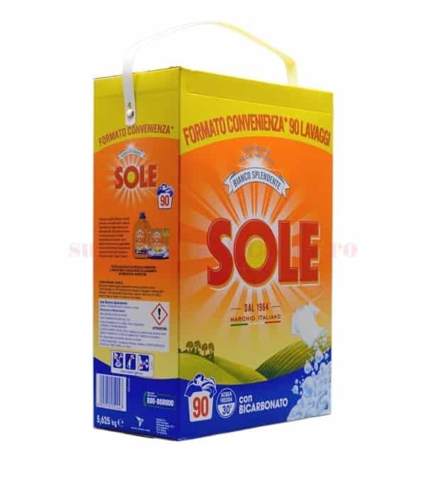 Detergent pulbere Sole Bianco Splendente 90 spălări 5625 g 8002910052447 1