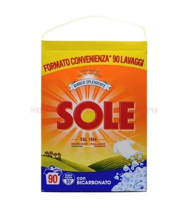 Detergent pulbere Sole Bianco Splendente 90 spălări 5625 g 8002910052447