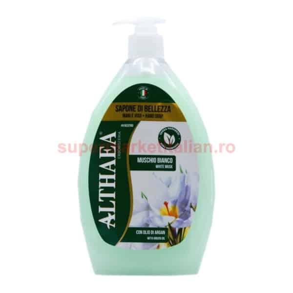 Săpun lichid Althaea Erbosteria Mosc Alb 750 ml 8018702005034