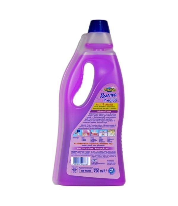 Soluție parchet Emulsio Ravviva Parquet cu esență de lavandă 750 ml 8001990028663 1