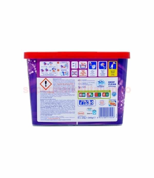 Detergent capsule Dixan Lavanda 15 bucăți 345 grame 8015100574056 2 1