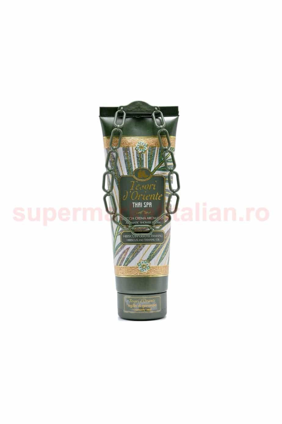 Gel de duș cremă Tesori dOriente Thai Spa 250 ml 8008970048598 2