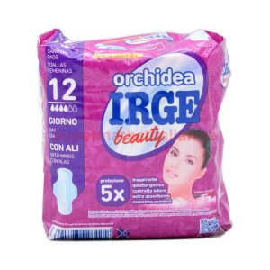 Absorbante Irge Beauty Orchidea 12 bucăți 8021723026421