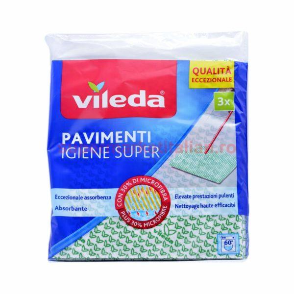 Lavete Pardoseli Vileda Igiene Super 3 bucăți 8001940000077 1