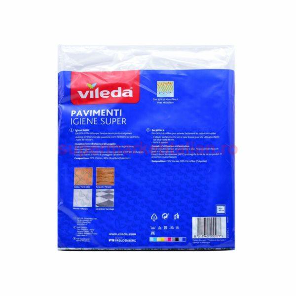 Lavete Pardoseli Vileda Igiene Super 3 bucăți 8001940000077 2