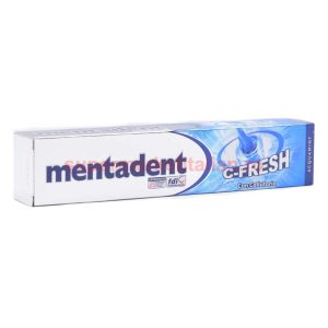 Pasta de dinți Mentadent C-Fresh cu apă de gură