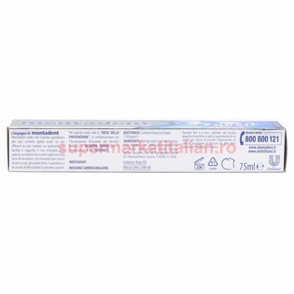 Pasta de dinți Mentadent C Fresh cu apă de gură 75 ml 8717163020074 3