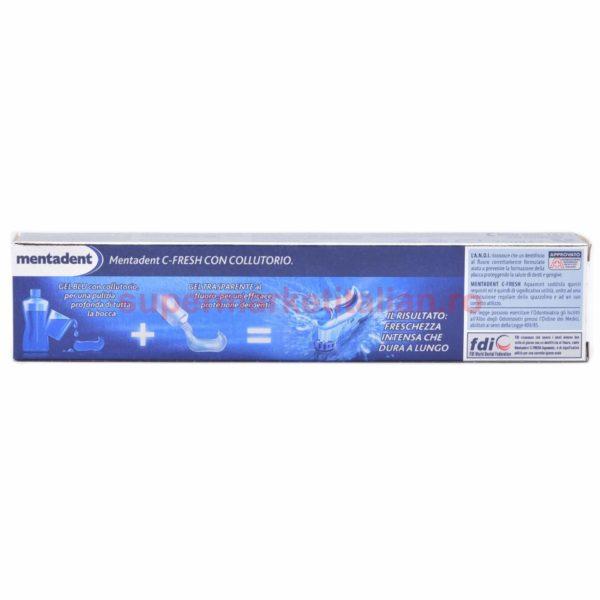 Pasta de dinți Mentadent C Fresh cu apă de gură 75 ml 8717163020074 4
