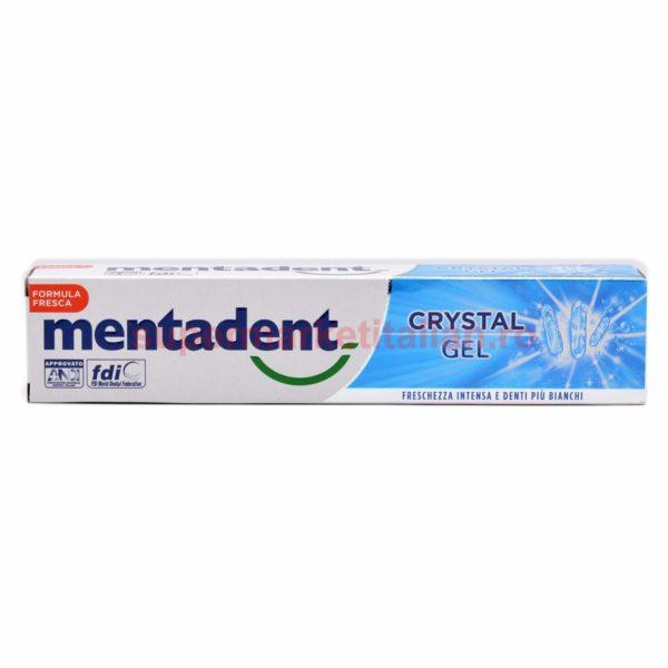 Pasta de dinți Mentadent Crystal Gel 75 ml 8717163746691 2