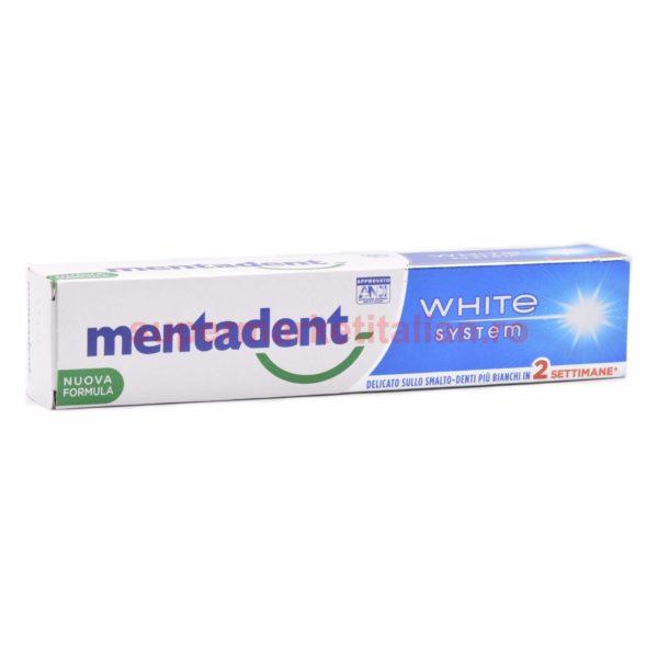 Pasta de dinți Mentadent White System Formulă Nouă