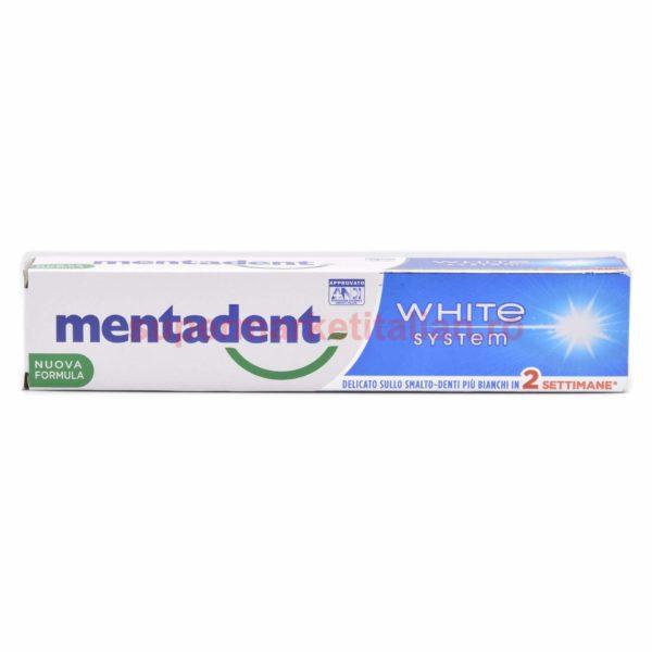 Pasta de dinți Mentadent White System Formulă Nouă 75 ml 8000630041277 2