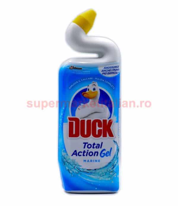Dezinfectant toaletă Duck Total Action Gel Marine 750ml 5000204527391 1 1
