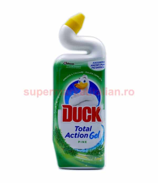 Dezinfectant toaletă Duck Total Action Gel Pine 750ml 5000204527391 1 1